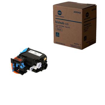 Konica Minolta A0X5433, TNP27C Toner Cartridge - Cyan - Yield 6,000