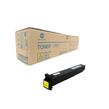 Konica Minolta A0D7231, TN314Y Toner Cartridge - Yellow - Yield 20,000