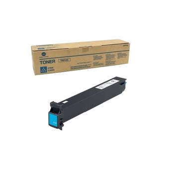 Konica Minolta A0D7435, TN214C Toner Unit - Cyan - Yield 18,500 Page