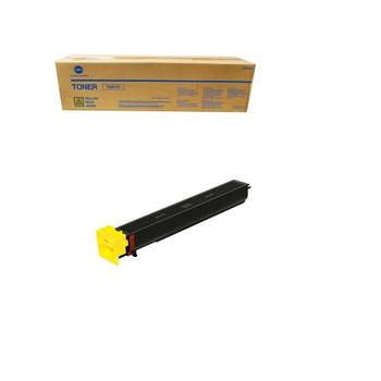 Konica Minolta A070230, TN611Y Toner Cartridge - Yellow - 27,000 Page