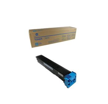 Konica Minolta A070430, TN611C Toner Cartridge - Cyan - Yield 27,000