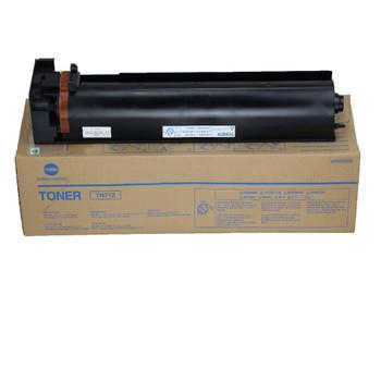 Konica Minolta A3VU030, TN712K Toner Cartridge - Black - 40,800 Yield