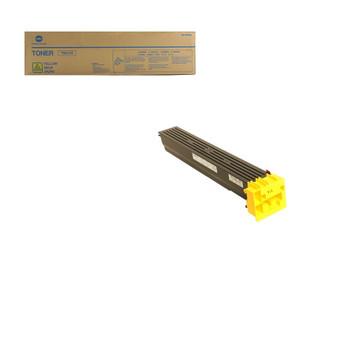 Konica Minolta A0TM230, TN613Y Toner Cartridge - Yellow - Yield 30,000