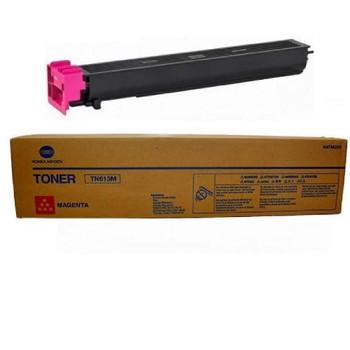 Konica Minolta A0TM330, TN613M Toner Cartridge - Magenta- 30,000 Yield