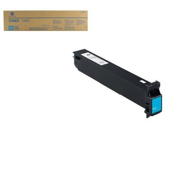 Konica Minolta A0TM430, TN613C Toner Cartridge - Cyan - 30,000 Yield