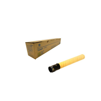 Konica Minolta A11G230, TN319Y Toner Cartridge - Yellow - 26,000 Yield