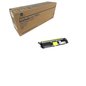 Konica Minolta A00W162, TN212Y Toner Unit - Yellow - Yield 4,500 Page