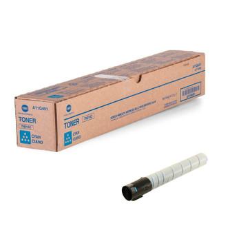 Konica Minolta A11G431, TN216C Toner Unit - Cyan - Yield 26,000 Page