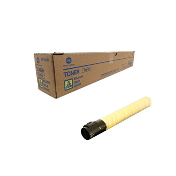 Konica Minolta A11G231, TN216Y Toner Unit - Yellow - Yield 26,000 Page