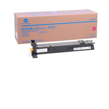 Konica Minolta A0DK333, TN318M Toner Cartridge - Magenta - Yield 8,000