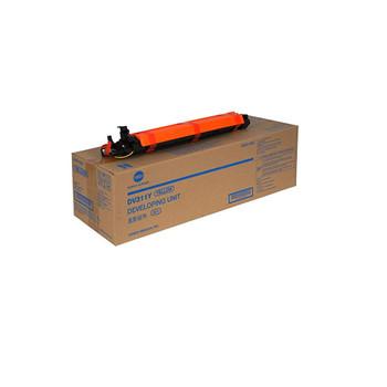 Konica Minolta A0XV08D, DV311Y Developer Unit - Yellow - 114000 Yield
