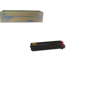 Konica Minolta A2XN0ED, DV-512M Developer Unit - Cyan - Yield 590000