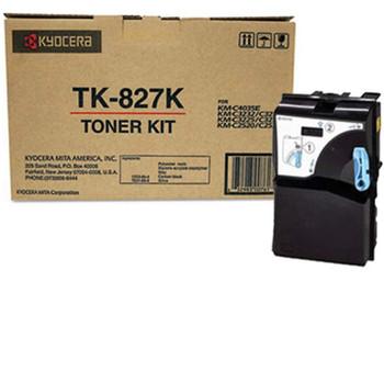 Kyocera TK827K Black Toner 15K Yield 1T02FZ0US0