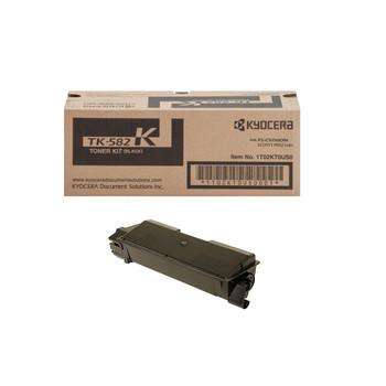 Kyocera TK582K Black Toner 3.5K Yield 1T02KT0US0