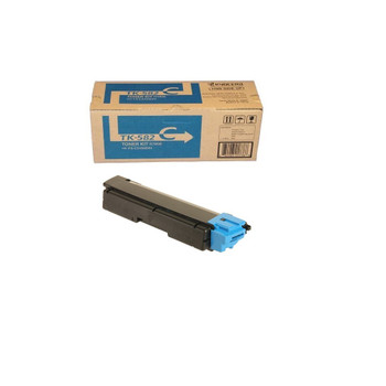 Kyocera TK582C Cyan Toner 2.8K Yield 1T02KTCUS0
