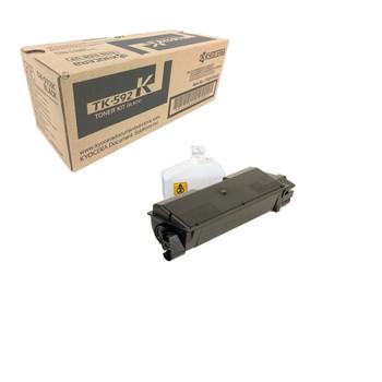 Kyocera TK592K Black Toner 7K Yield 1T02KV0US0