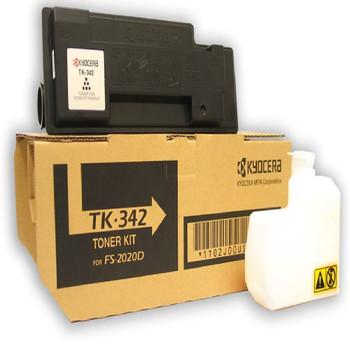 Kyocera TK342 Black Toner 12K Yield 1T02J00US0