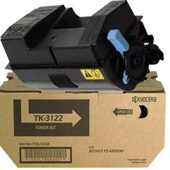 Kyocera TK3122 Black Toner 21K Yield 1T02L10US0