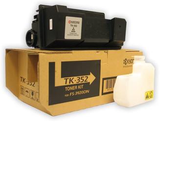 Kyocera TK352 Black Toner 15K Yield 1T02J10US0, 1T02LX0US0