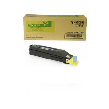 Kyocera TK867Y Yellow Toner 12K Yield 1T02JZAUS0