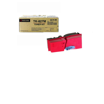 Kyocera TK827M Magenta Toner 7K Yield 1T02FZBUS0