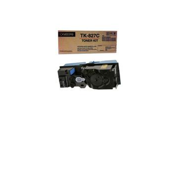 Kyocera TK827C Cyan Toner 7K Yield 1T02FZCUS0