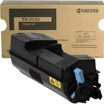 Kyocera TK3132 Black Toner 25K Yield 1T02LV0US0