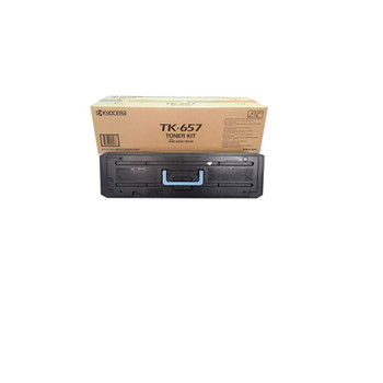 Kyocera TK657 Black Toner 47K Yield 1T02FB0US0