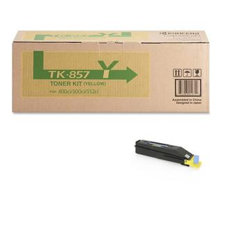 Kyocera TK857Y Yellow Toner 18K Yield 1T02H7AUS0