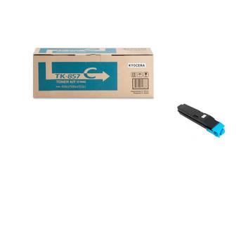 Kyocera TK857C Cyan Toner 18K Yield 1T02H7CUS0