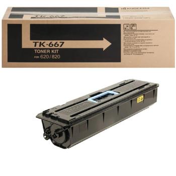 Kyocera TK667 Black Toner 55K Yield 1T02KP0US0, SY2538