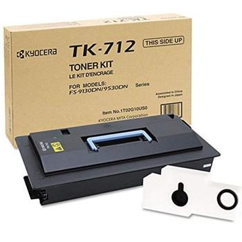 Kyocera TK712 Black Toner 40K Yield 1T02G10US0