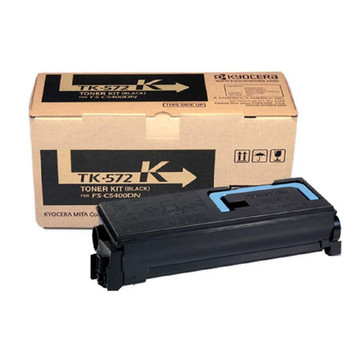 Kyocera TK572K Black Toner 16K Yield 1T02HG0US0