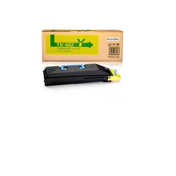 Kyocera TK882Y Yellow Toner 18000 Yield 1T02KAAUS0
