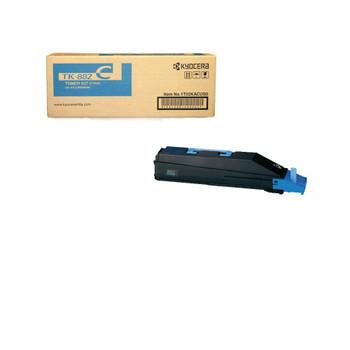 Kyocera TK882C Cyan Toner 18000 Yield 1T02KACUS0