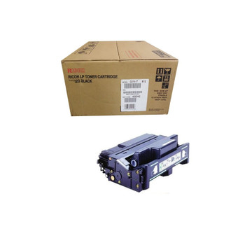Ricoh 400942 Type 120 Toner Cartridge Black - Yield - 15000 Pages