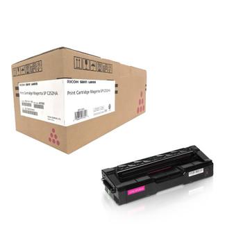 Ricoh 407655 Type SP C252HA Toner Cartridge Magenta - Yield 6000 Pages