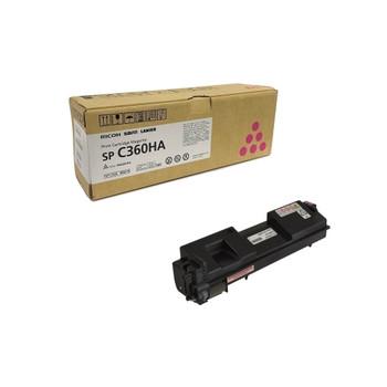 RICOH 408178 SP C360HA  Toner Cartridge Magenta - Yield 5000 Pages