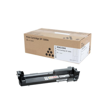 RICOH 408180 SP C360A  Toner Cartridge Black - High Yield 2500 Pages