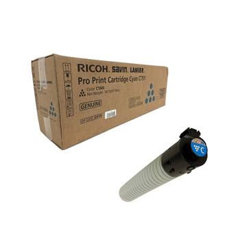 Ricoh 828188 Toner Cartridge Cyan Yield 48,500 Pages