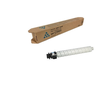 Ricoh 841816 Toner Cartridge Cyan - Yield 18,000 Pages