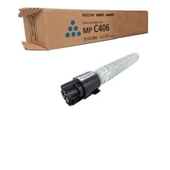 Ricoh 842092 MP C406 Toner Cartridge Cyan - Yield 6000 Pages