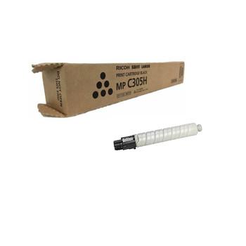 Ricoh 842119 Type MP C305H Toner Cartridge Black - Yield - 12,000 Page