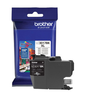 Brother LC3017BK High Yield Ink Cartridge Black - Yield 550 Pages