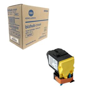 Konica Minolta A0X5234, TNP50Y Toner Cartridge - Yellow - 6000 Yield