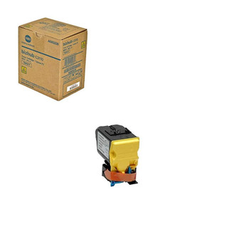 Konica Minolta A0X5235, TNP51Y Toner Cartridge - Yellow -6000 Page