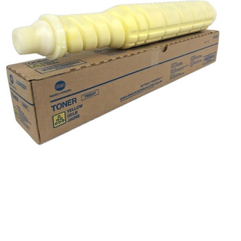 Konica Minolta TN-620Y, A3VX231 Toner Cartridge - Yellow - 71000 Yield
