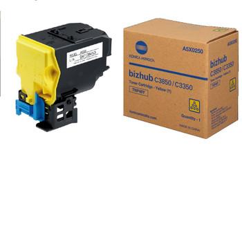 Konica Minolta TNP-48Y, A5X0230 Toner Cartridge - Yellow - Yield 10000