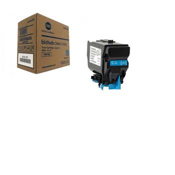 Konica Minolta TNP-48C, A5X0430 Toner Cartridge - Cyan - Yield 10000