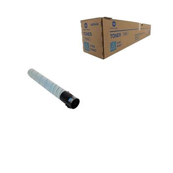 Konica Minolta TN-324C, A8DA430 Toner Unit - Cyan - Yield 26000 Page